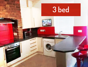 Student Lettings - 3 Bed House