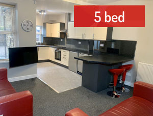 Student Lettings - 5 Bed House