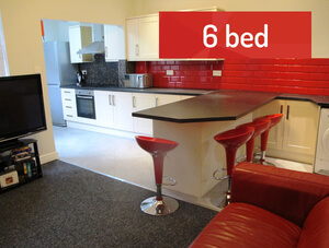 Student Lettings - 6 Bed House