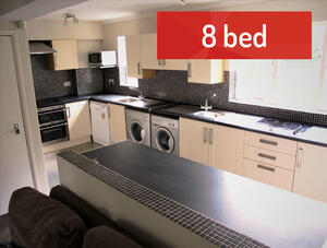Student Lettings - 8 Bed House